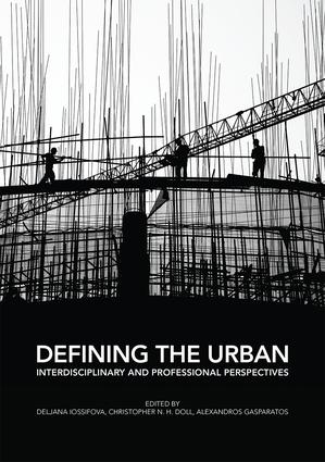 Defining the Urban: Interdisciplinary and Professional Perspectives (Paperback) book cover