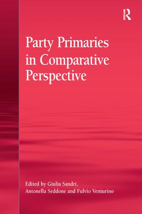 Party Primaries in Comparative Perspective