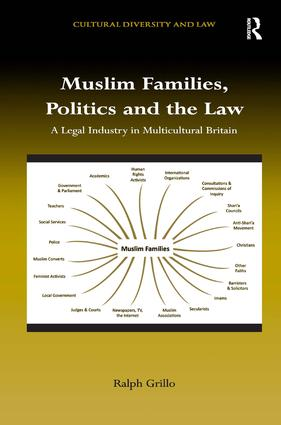 Muslim Families, Politics and the Law: A Legal Industry in Multicultural Britain, 1st Edition (Hardback) book cover