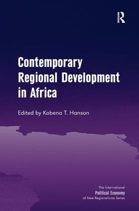Contemporary Regional Development in Africa book cover
