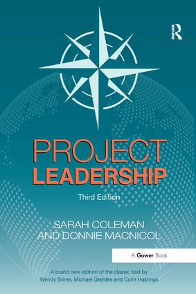 Project Leadership: 3rd Edition (Paperback) book cover