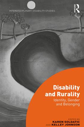 Disability and Rurality: Identity, Gender and Belonging book cover