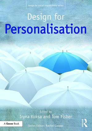 Design for Personalisation book cover