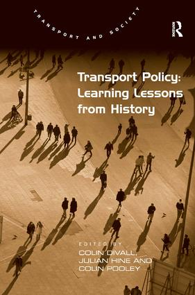 Transport Policy: Learning Lessons from History: 1st Edition (Hardback) book cover
