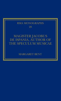 Magister Jacobus de Ispania, Author of the Speculum musicae book cover