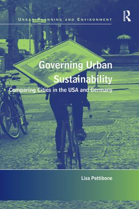 Governing Urban Sustainability (Hardback) book cover