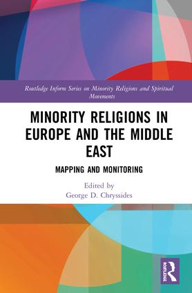 Minority Religions in Europe and the Middle East: Mapping and Monitoring book cover