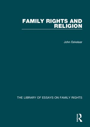 Family Rights and Religion book cover