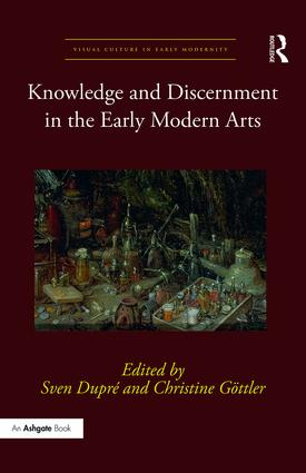 Knowledge and Discernment in the Early Modern Arts (Hardback) book cover