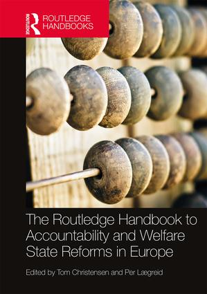 The Routledge Handbook to Accountability and Welfare State Reforms in Europe: 1st Edition (Hardback) book cover