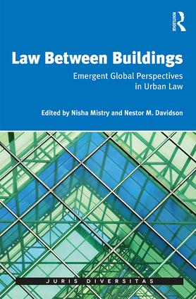 Law Between Buildings: Emergent Global Perspectives in Urban Law (Hardback) book cover