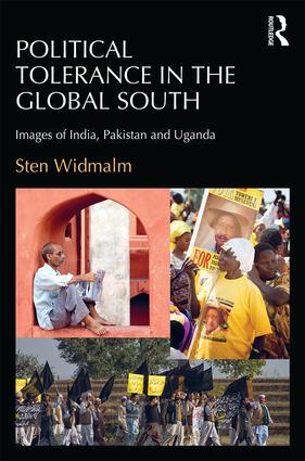 Political Tolerance in the Global South: Images of India, Pakistan and Uganda, 1st Edition (Hardback) book cover