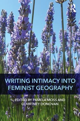 Writing Intimacy into Feminist Geography book cover