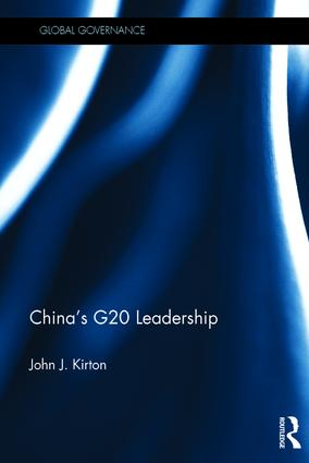 China's G20 Leadership (Hardback) book cover