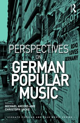 Perspectives on German Popular Music (Hardback) book cover