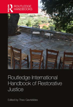 Routledge International Handbook of Restorative Justice book cover