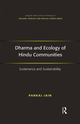Dharma and Ecology of Hindu Communities