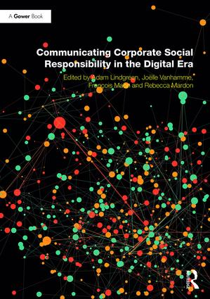 Communicating Corporate Social Responsibility in the Digital Era: 1st Edition (Hardback) book cover