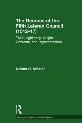 The Decrees of the Fifth Lateran Council (1512–17)