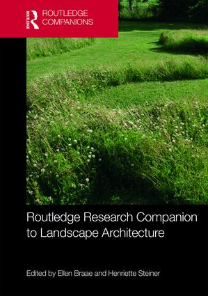 Routledge Research Companion to Landscape Architecture book cover