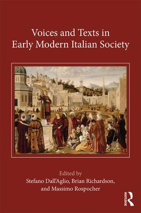 Voices and Texts in Early Modern Italian Society book cover