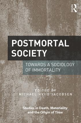 Postmortal Society (Hardback) book cover