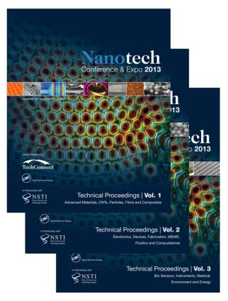 Nanotech 2013: Technical Proceedings of the 2013 NSTI Nanotechnology Conference and Expo, Volumes 1-3, 1st Edition (Paperback) book cover