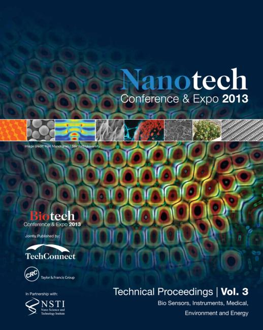 Nanotechnology 2013: Bio Sensors, Instruments, Medical, Environment and Energy Technical Proceedings of the 2013 NSTI Nanotechnology Conference and Expo (Volume 3), 1st Edition (Paperback) book cover