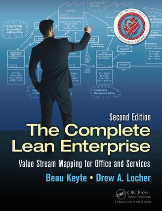 The Complete Lean Enterprise: Value Stream Mapping for Office and Services, Second Edition, 2nd Edition (Paperback) book cover