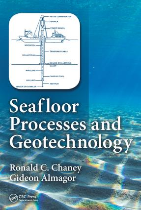 Seafloor Processes and Geotechnology: 1st Edition (Hardback) book cover