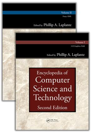 Encyclopedia of Computer Science and Technology, Second Edition (Set): 2nd Edition (Hardback) book cover