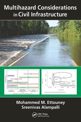 Multihazard Considerations in Civil Infrastructure: 1st Edition (Hardback) book cover