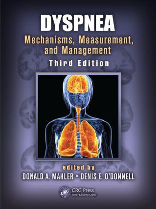 Dyspnea: Mechanisms, Measurement, and Management, Third Edition, 3rd Edition (Hardback) book cover