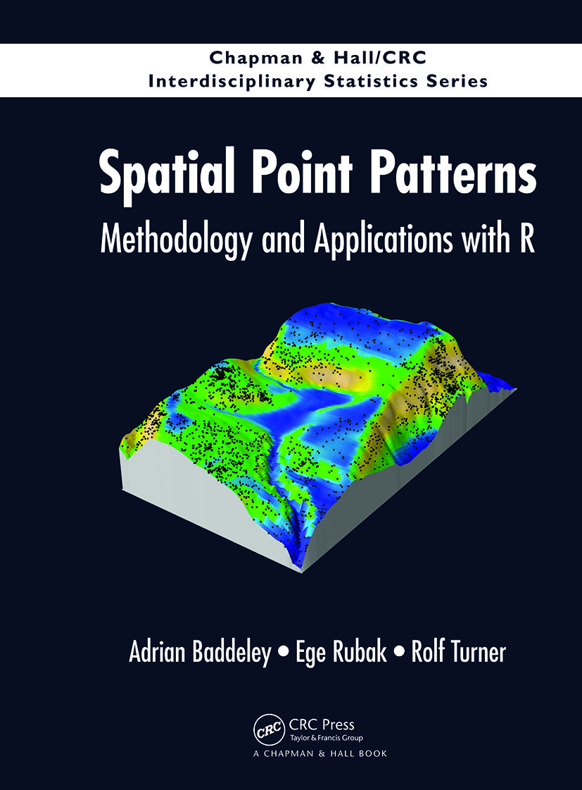 Spatial Point Patterns: Methodology and Applications with R book cover