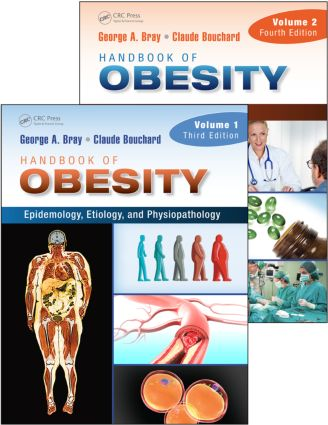 Handbook of Obesity, Two-Volume Set: 4th Edition (Pack - Book and Ebook) book cover