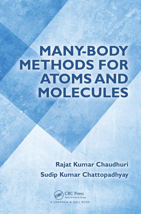 Many-Body Methods for Atoms and Molecules: 1st Edition (Hardback) book cover