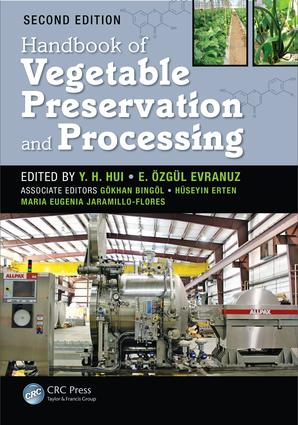 Handbook of Vegetable Preservation and Processing, Second Edition book cover