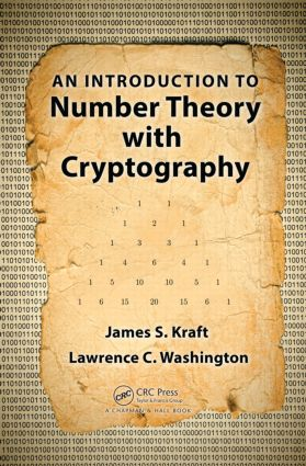 An Introduction to Number Theory with Cryptography: 1st Edition (Hardback) book cover