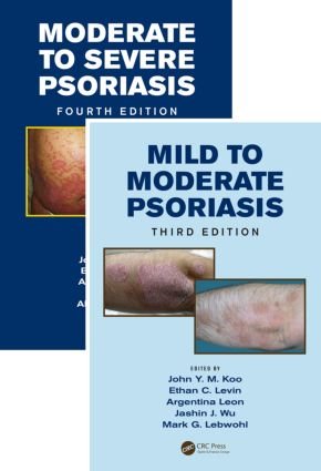 Mild to Moderate and Moderate to Severe Psoriasis (Set): 1st Edition (Hardback) book cover
