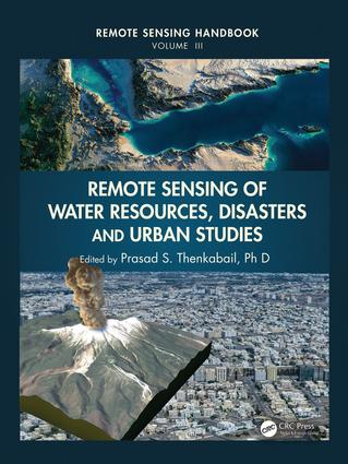 Remote Sensing of Water Resources, Disasters, and Urban Studies: 1st Edition (Hardback) book cover