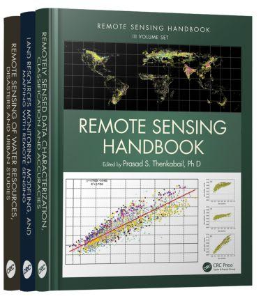 Remote Sensing Handbook - Three Volume Set book cover