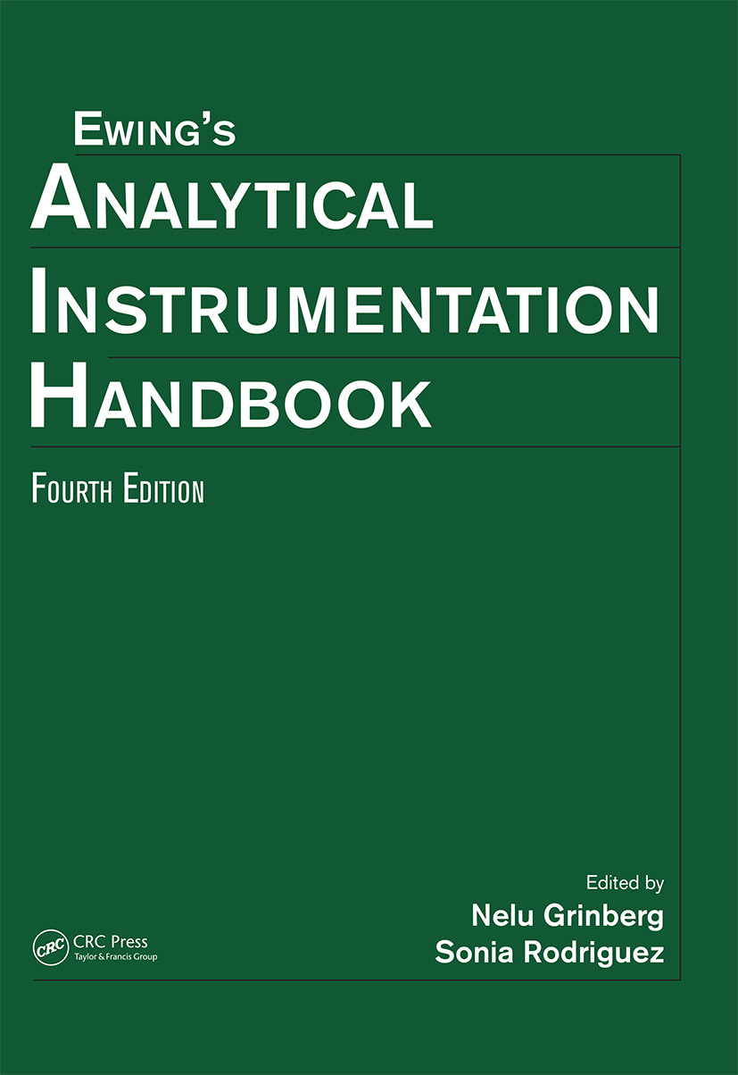 Ewing's Analytical Instrumentation Handbook, Fourth Edition: 4th Edition (Hardback) book cover