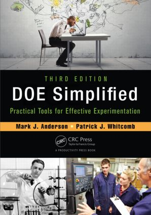 DOE Simplified: Practical Tools for Effective Experimentation, Third Edition, 3rd Edition (Paperback) book cover