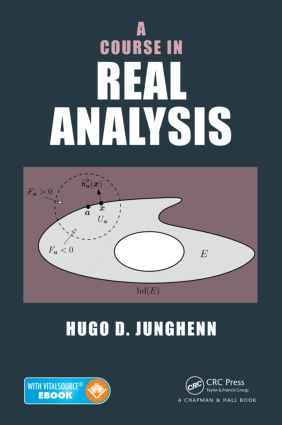 A Course in Real Analysis: 1st Edition (Hardback) book cover