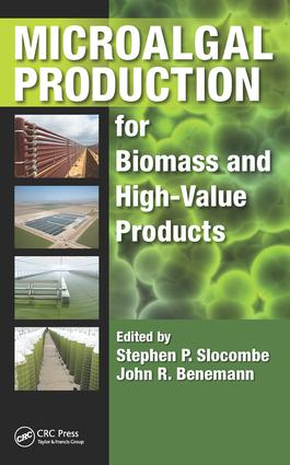 Microalgal Production for Biomass and High-Value Products: 1st Edition (Hardback) book cover