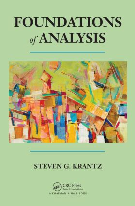 Foundations of Analysis: 1st Edition (Hardback) book cover