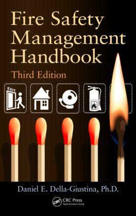 Fire Safety Management Handbook: 3rd Edition (Hardback) book cover