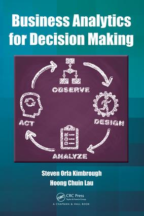 Business Analytics for Decision Making: 1st Edition (Hardback) book cover