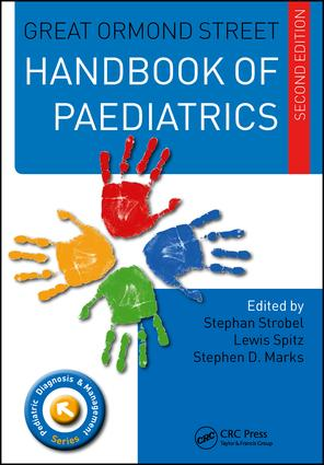 Great Ormond Street Handbook of Paediatrics Second Edition book cover