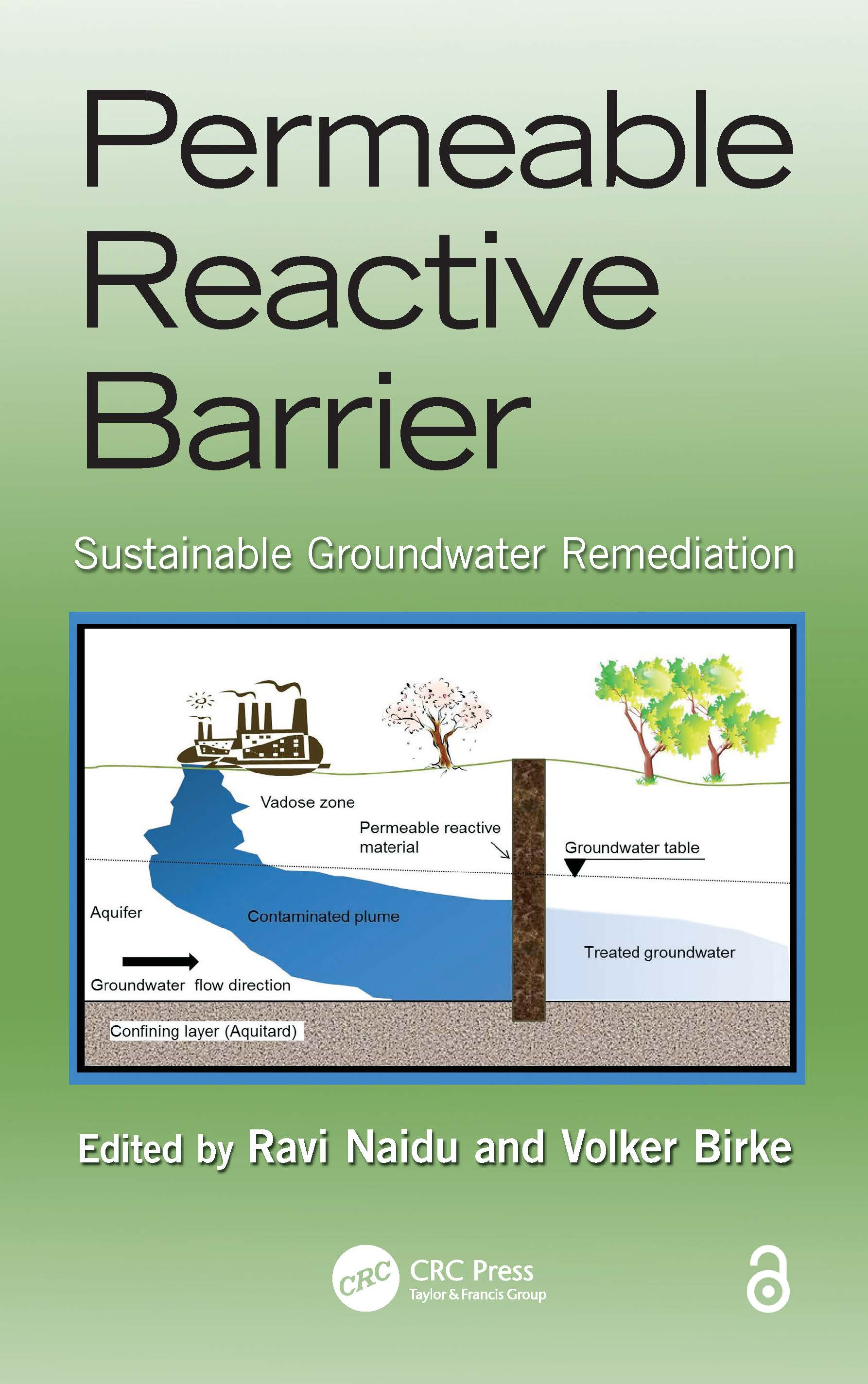 Permeable Reactive Barrier: Sustainable Groundwater Remediation book cover